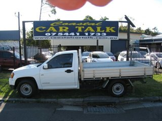 2009 Holden Colorado RC MY10 LX (4x2) White 5 Speed Manual Cab Chassis.