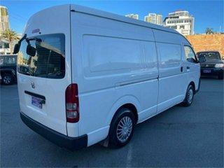 2012 Toyota HiAce KDH221R MY12 Upgrade SLWB White 4 Speed Automatic Van.