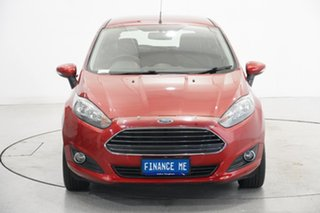 2016 Ford Fiesta WZ Ambiente Red 5 Speed Manual Hatchback.