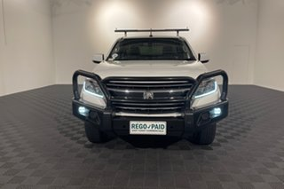 2018 Holden Colorado RG MY19 LS Space Cab White 6 speed Automatic Cab Chassis.