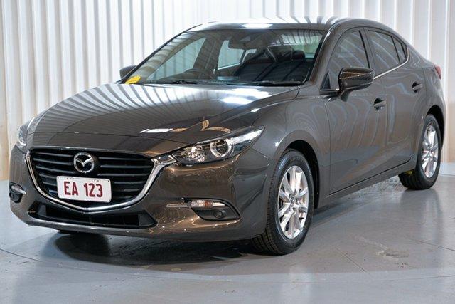 Used Mazda 3 BN5278 Maxx SKYACTIV-Drive Hendra, 2017 Mazda 3 BN5278 Maxx SKYACTIV-Drive Bronze 6 Speed Sports Automatic Sedan