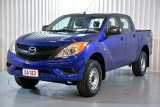 2014 Mazda BT-50 UP0YF1 XT Blue 6 Speed Sports Automatic Utility.