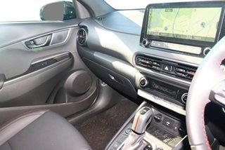 2021 Hyundai Kona Os.v4 MY21 N-Line D-CT AWD Surfy Blue 7 Speed Sports Automatic Dual Clutch Wagon