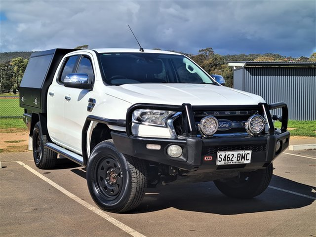 Used Ford Ranger PX MkII XLT Double Cab St Marys, 2016 Ford Ranger PX MkII XLT Double Cab White 6 Speed Sports Automatic Utility