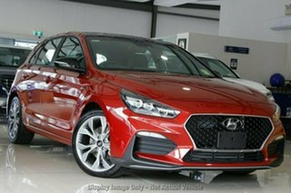 2021 Hyundai i30 PD.V4 MY21 N Line D-CT Premium Lava Orange 7 Speed Sports Automatic Dual Clutch.