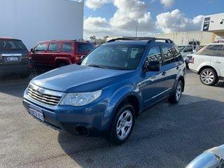 2009 Subaru Forester MY09 X Blue 4 Speed Auto Elec Sportshift Wagon.