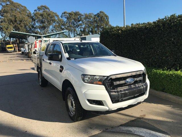 Used Ford Ranger PX MkII XL Hi-Rider Acacia Ridge, 2016 Ford Ranger PX MkII XL Hi-Rider White 6 speed Automatic Cab Chassis