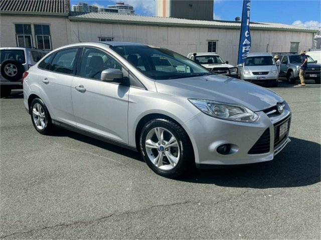 Used Ford Focus LW Trend Southport, 2011 Ford Focus LW Trend Silver 6 Speed Automatic Sedan