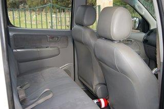2008 Toyota Hilux KUN16R 08 Upgrade SR White 5 Speed Manual Dual Cab Pick-up