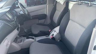 2009 Mitsubishi Triton ML MY09 GLX White 4 Speed Automatic Cab Chassis
