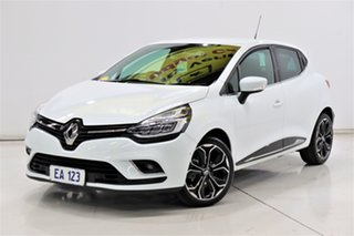 2017 Renault Clio IV B98 Phase 2 Intens EDC White 6 Speed Sports Automatic Dual Clutch Hatchback.