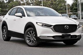 2021 Mazda CX-30 DM2W7A G20 SKYACTIV-Drive Pure White 6 Speed Sports Automatic Wagon.