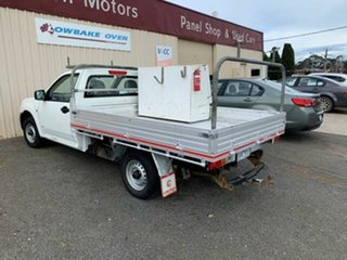 2005 Holden Rodeo RA DX 4x2 Alpine White Manual Cab Chassis.