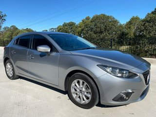 2016 Mazda 3 BN5478 Touring SKYACTIV-Drive Silver 6 Speed Sports Automatic Hatchback.