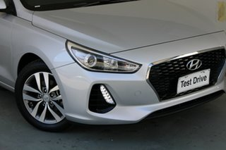 2019 Hyundai i30 PD2 MY20 Active Platinum Silver 6 Speed Sports Automatic Hatchback