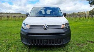2021 Volkswagen Caddy SKN MY21 TDI320 Cargo SWB DSG Candy White 7 Speed Sports Automatic Dual Clutch.