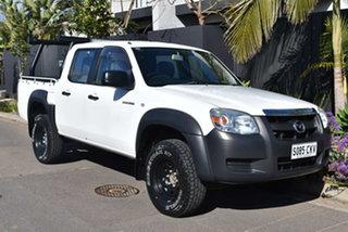 2008 Mazda BT-50 UNY0E3 DX 4x2 White 5 Speed Manual Utility