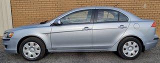 2007 Mitsubishi Lancer CJ MY08 ES Silver 6 Speed Constant Variable Sedan.