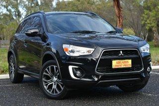 2016 Mitsubishi ASX XB MY15.5 LS 2WD Black 6 Speed Constant Variable Wagon.