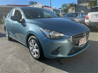 2014 Mazda 2 DE MY14 Neo Sport Blue 4 Speed Automatic Hatchback.