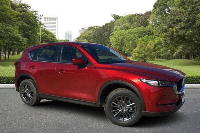 Demo Mazda CX-5 KF2W7A Maxx SKYACTIV-Drive FWD Sport Paradise, 2021 Mazda CX-5 KF2W7A Maxx SKYACTIV-Drive FWD Sport Soul Red 6 Speed Sports Automatic Wagon