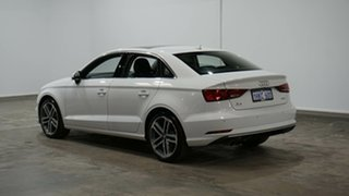 2018 Audi A3 8V MY18 Sport S Tronic Glacier White 7 Speed Sports Automatic Dual Clutch Sedan.