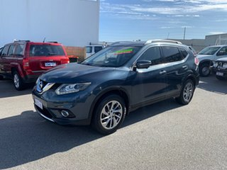2014 Nissan X-Trail T32 TL (FWD) Blue Continuous Variable Wagon.