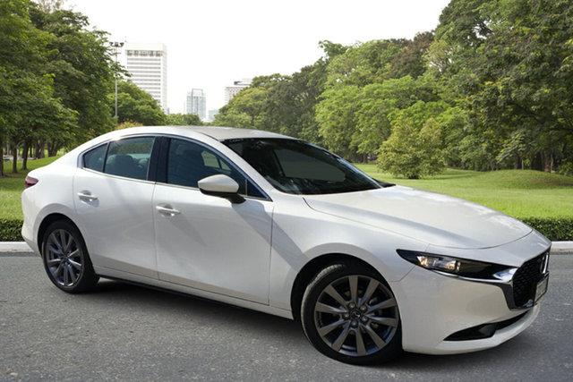 Demo Mazda 3 BP2S7A G20 SKYACTIV-Drive Touring Paradise, 2021 Mazda 3 BP2S7A G20 SKYACTIV-Drive Touring White Pearl 6 Speed Sports Automatic Sedan