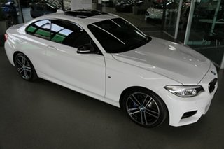 2019 BMW 2 Series F22 LCI M240I White 8 Speed Sports Automatic Coupe