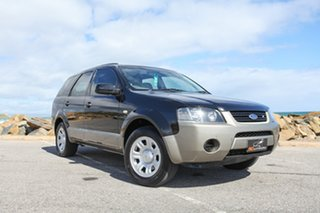 2007 Ford Territory SY TX Black 4 Speed Sports Automatic Wagon.