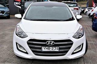 2015 Hyundai i30 GD3 Series II MY16 Premium DCT White 7 Speed Sports Automatic Dual Clutch Hatchback.