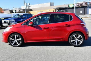 2013 Peugeot 208 A9 MY13 Allure Premium Red 4 Speed Automatic Hatchback