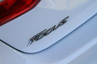 2014 Ford Focus LW MkII Ambiente PwrShift White 6 Speed Sports Automatic Dual Clutch Sedan