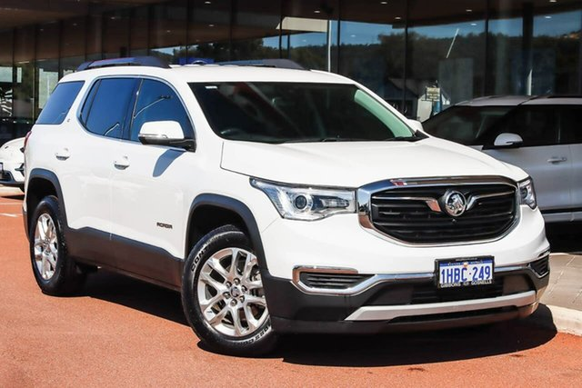 Used Holden Acadia AC MY19 LT 2WD Gosnells, 2019 Holden Acadia AC MY19 LT 2WD White 9 Speed Sports Automatic Wagon