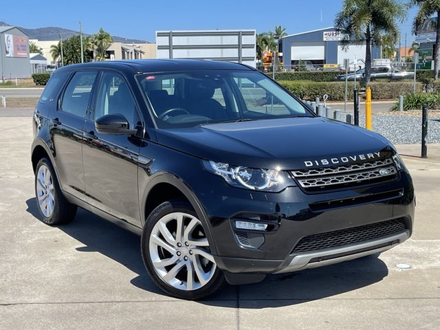 Used Land Rover Discovery Sport L550 16MY SE Townsville, 2015 Land Rover Discovery Sport L550 16MY SE Black 9 Speed Sports Automatic Wagon