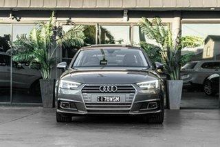 2015 Audi A4 B9 8W MY16 Sport S Tronic Grey 7 Speed Sports Automatic Dual Clutch Sedan.