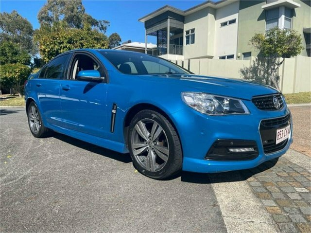 Used Holden Commodore VF SV6 Southport, 2013 Holden Commodore VF SV6 Blue 6 Speed Automatic Sedan