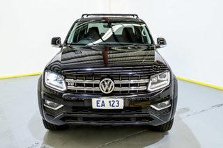 2017 Volkswagen Amarok 2H MY17 TDI550 4MOTION Perm Highline Black 8 Speed Automatic Utility.