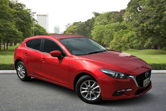Used Mazda 3 BN5478 Touring SKYACTIV-Drive Paradise, 2016 Mazda 3 BN5478 Touring SKYACTIV-Drive Red 6 Speed Sports Automatic Hatchback