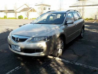 2007 Mazda 6 GG 05 Upgrade Classic Silver 5 Speed Auto Activematic Sedan.