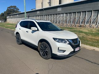2018 Nissan X-Trail T32 Series 2 TL (4WD) White Continuous Variable Wagon.