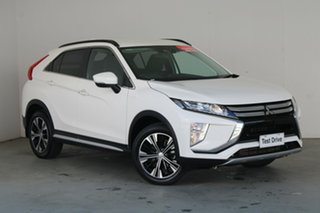 2019 Mitsubishi Eclipse Cross YA MY20 ES 2WD White 8 Speed Constant Variable Wagon.