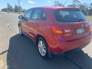 2013 Mitsubishi ASX XB MY13 (2WD) Red Continuous Variable Wagon