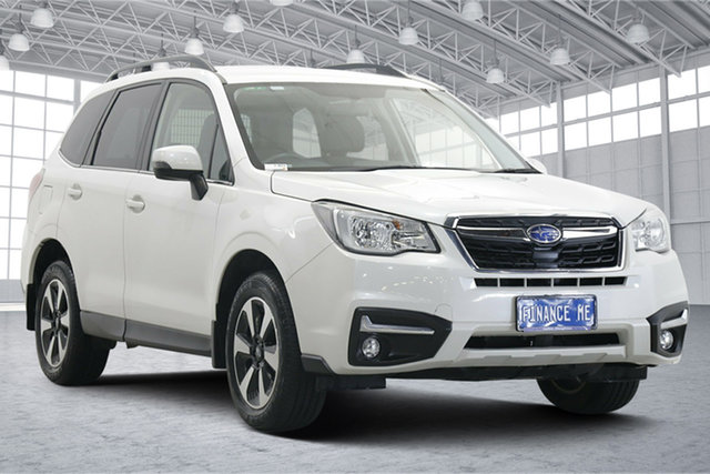 Used Subaru Forester S4 MY18 2.0D-L CVT AWD Victoria Park, 2018 Subaru Forester S4 MY18 2.0D-L CVT AWD White Pearl 7 Speed Constant Variable Wagon