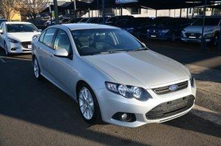 2013 Ford Falcon FG MK2 XR6 Silver 6 Speed Auto Seq Sportshift Sedan.