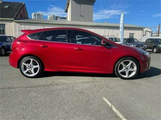 2014 Ford Focus LW MK2 MY14 Titanium Red 6 Speed Automatic Hatchback.