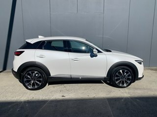 2021 Mazda CX-3 DK4W7A sTouring SKYACTIV-Drive i-ACTIV AWD Snowflake White 6 Speed Sports Automatic.
