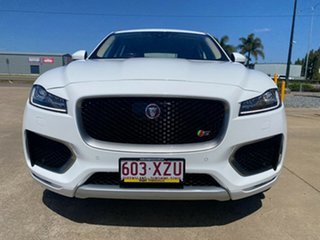 2016 Jaguar F-PACE X761 MY17 S White/190816 8 Speed Sports Automatic Wagon