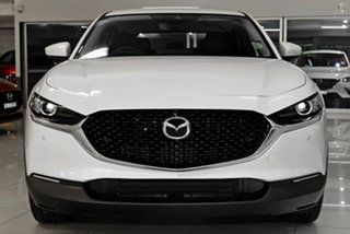 2021 Mazda CX-30 DM4WLA G25 SKYACTIV-Drive i-ACTIV AWD Touring White 6 Speed Sports Automatic Wagon.