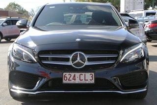 2016 Mercedes-Benz C-Class W205 807MY C250 7G-Tronic + Black 7 Speed Sports Automatic Sedan